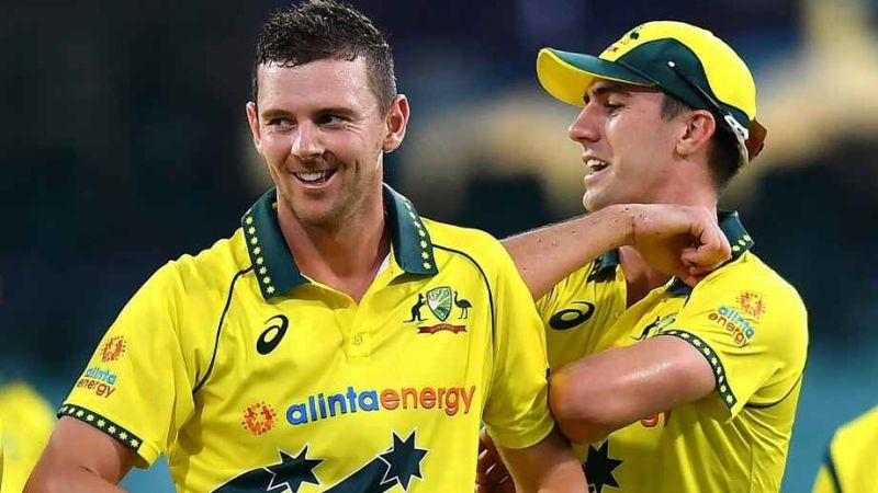 The Aussie bowlers kept their lines tight to run through the New Zealand batting lineup.
