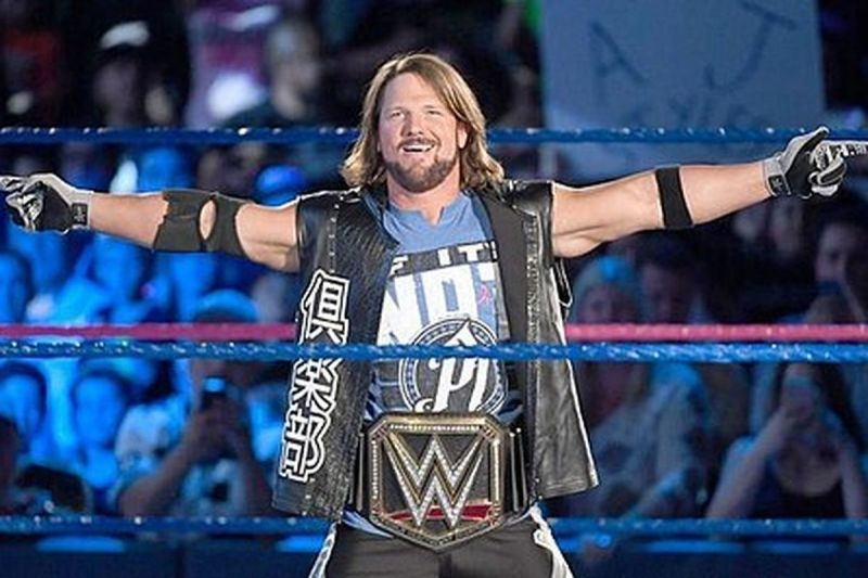 AJ Styles - ready for another run with the gold?