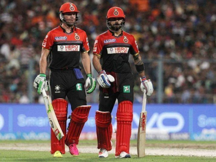 Virat Kohli and AB de Villiers form the backbone of the RCB batting line-up