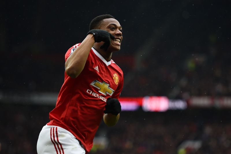 Martial enjoyed a blockbuster start to life at Old Trafford