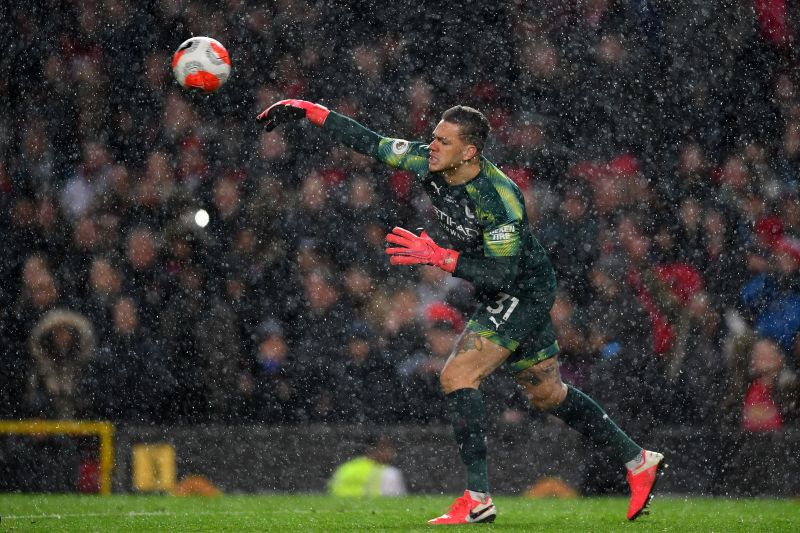 City goalkeeper Ederson had a stinker today - and cost his side the points