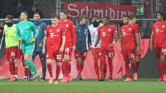 Bayern Munich would travel to the capital to trade tackles with Union Berlin