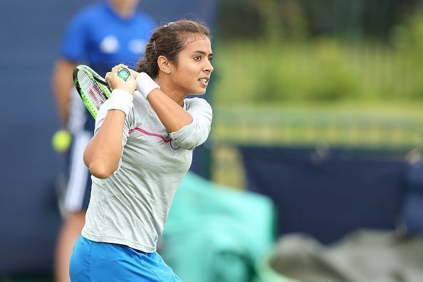 Ankita Raina won the second singles to seal the tie for India