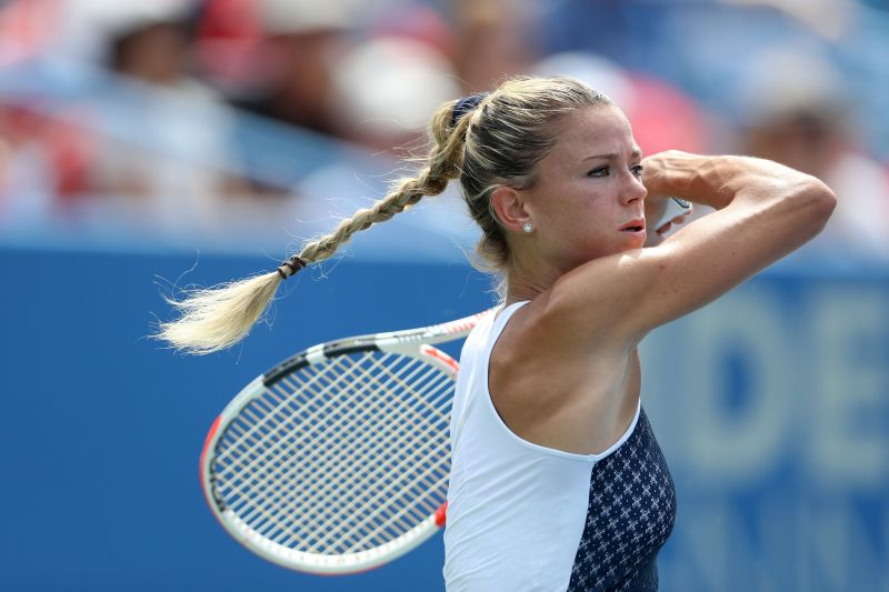 Camila Giorgi is not known to hold back on her groundstrokes