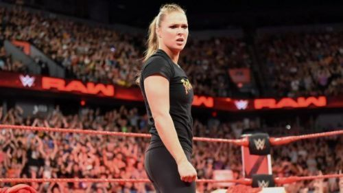 Rowdy Ronda Rousey was a part of a mixed tag team match on her WrestleMania debut
