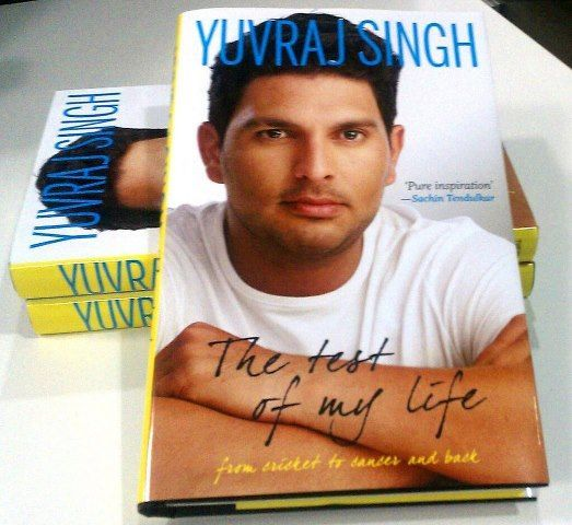 The Test of My Life is the story of incomparable self-belief against real life odds. (Picture courtesy: Yuvraj Singh via Twitter)