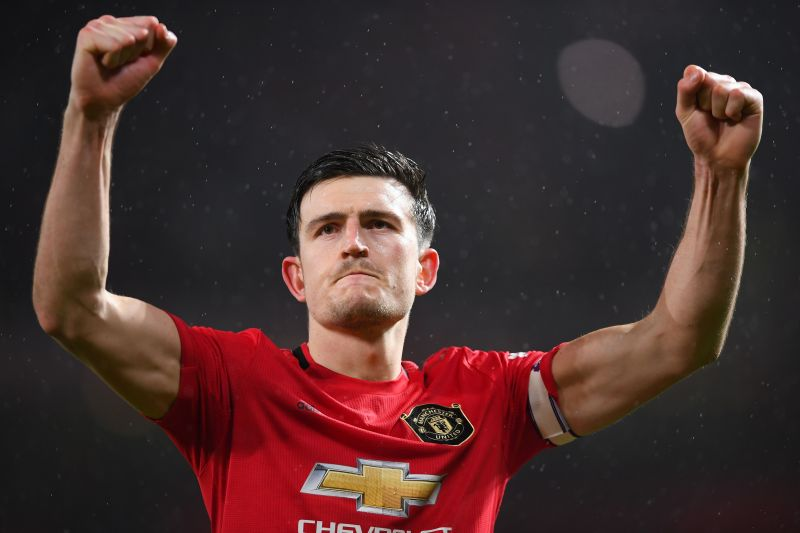 Maguire has taken over the armband from Ashley Young