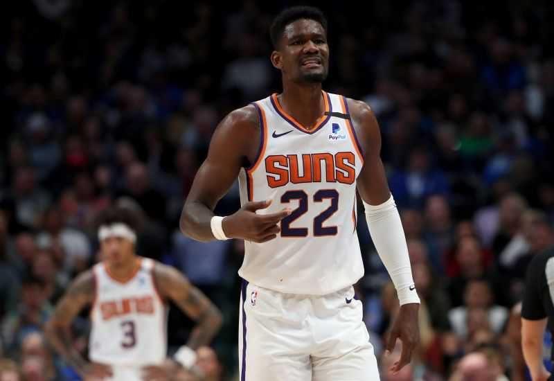 Ayton was the No. 1 pick in the 2018 NBA draft.