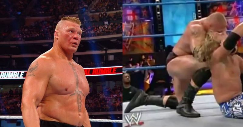 Lesnar will face Drew McIntyre at WrestleMania 36