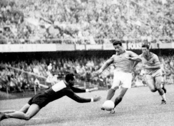 Just Fontaine scored 13 goals in a single World Cup back in 1958