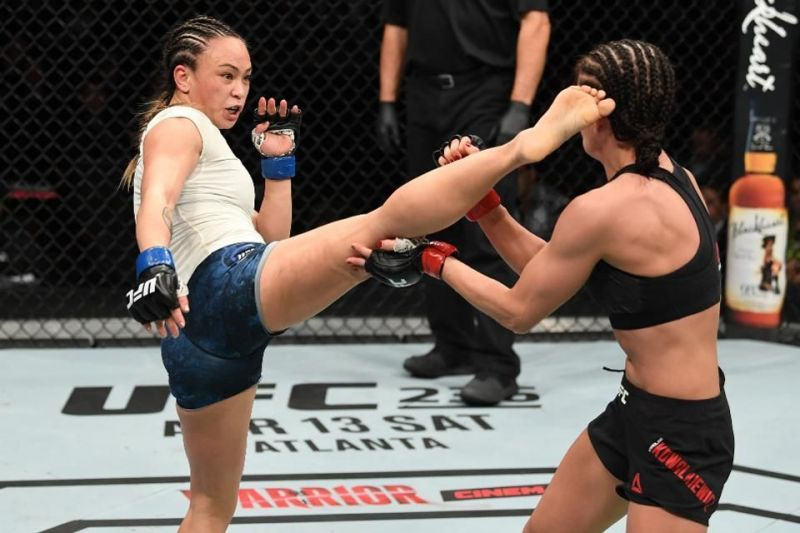 Michelle Waterson is one of the Strawweight division
