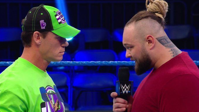 John Cena and Bray Wyatt squared off on WWE SmackDown