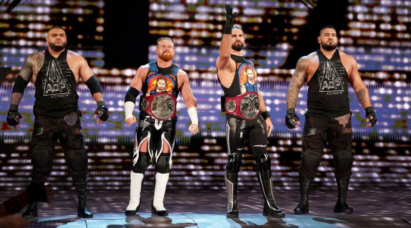 AOP, Murphy and Seth Rollins