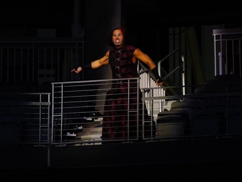 Hardy would have been lost in the shuffle (Pic Source: AEW/ Matt Hardy Twitter)