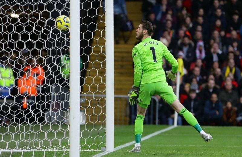 De Gea spilled an effort which he honestly should have saved
