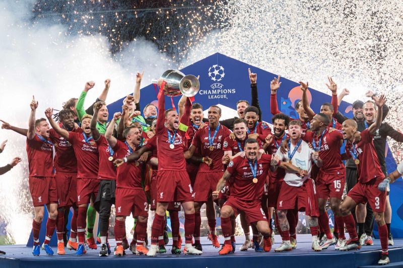 Liverpool won the Champions League in 2018-19