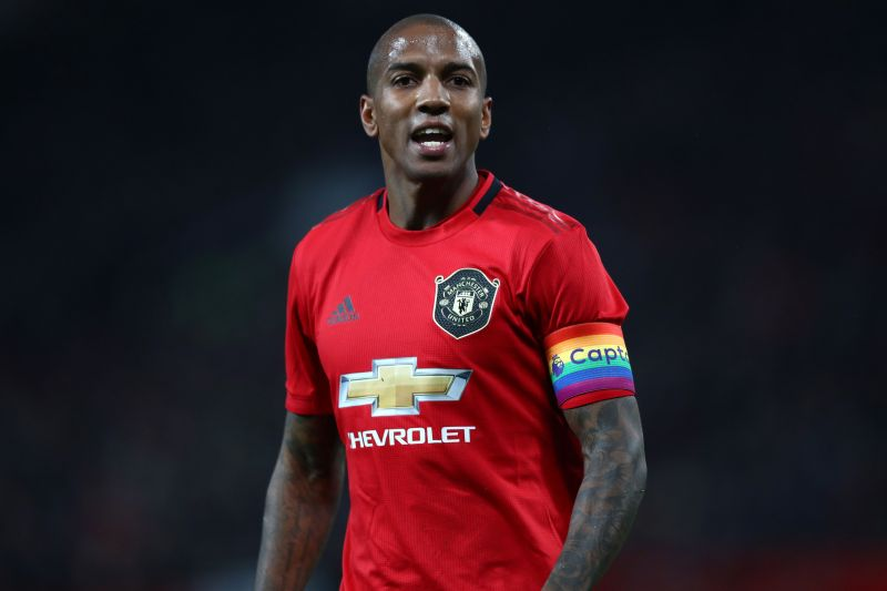 Ashley Young was one of the longest-serving players in the squad and the captain of Manchester United before Solskjaer sold him in January.