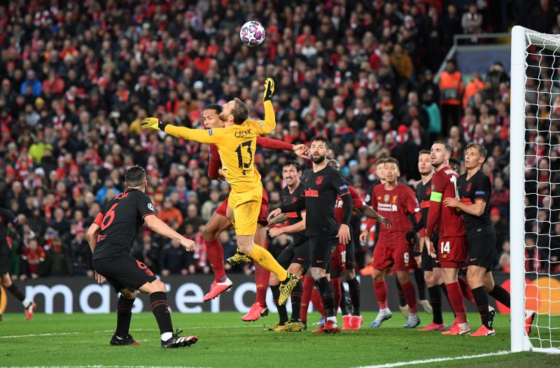 The goalkeeper was active and brilliant tonight
