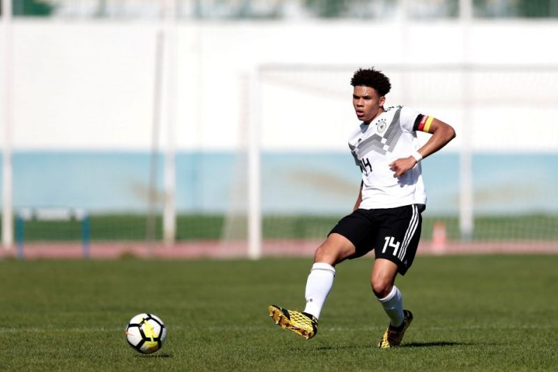 Collins also represents the Germany U-16s