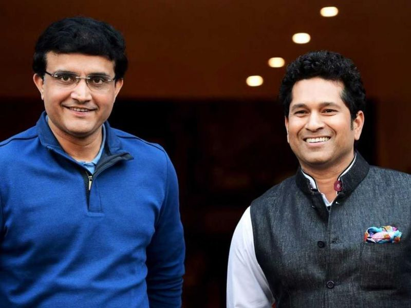 Sourav Ganguly (L) and Sachin Tendulkar [PC: NDTVSports]