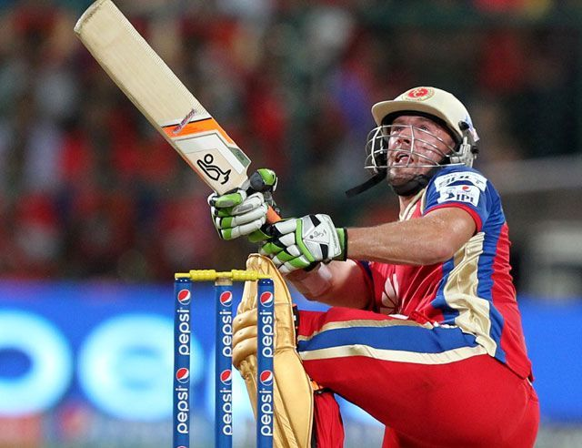 When De Villiers is on song, no boundary seems to be big.
