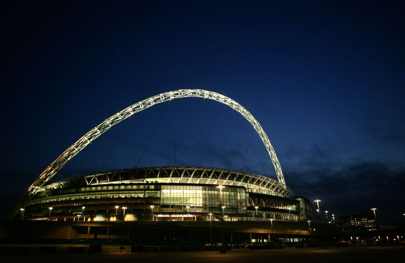 Wembley Stadium in London will host the EURO 2020 semi-finals and final