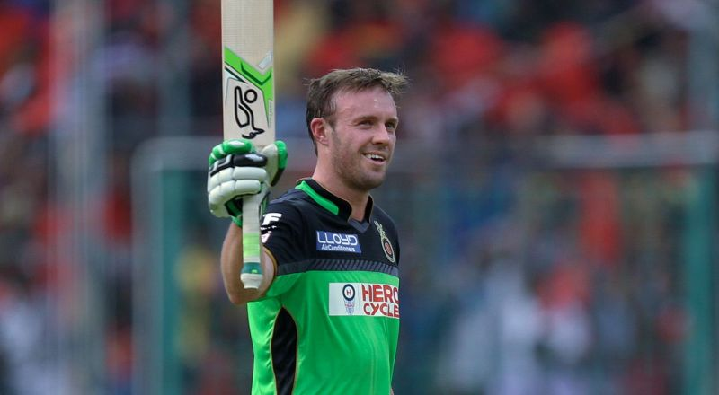 Mr. 360, AB de Villiers, stands second on this list