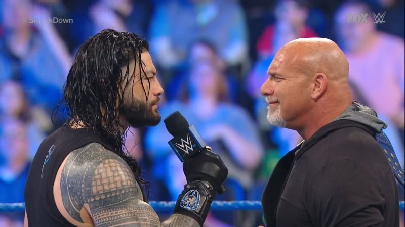 Reigns and Goldberg