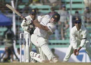 Hayden swept the Indian spinners with disdain
