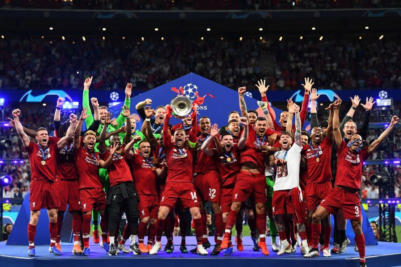Champions of Europe, after 14 years!