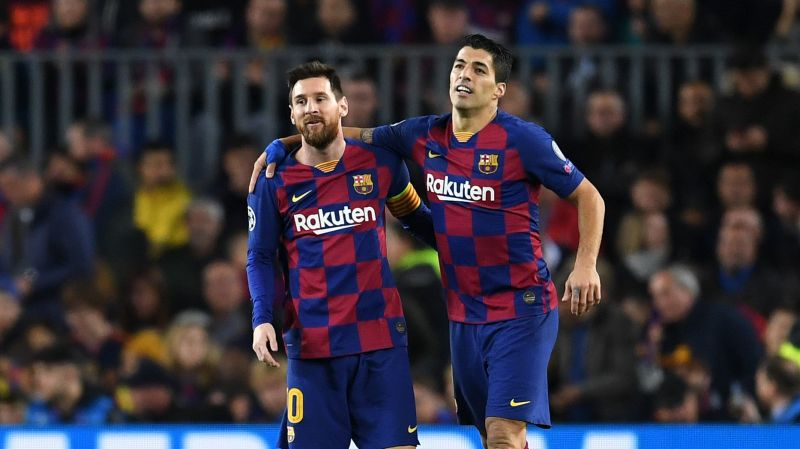 Messi and Suarez have grown into one of the best strike partnerships of modern times