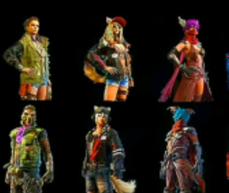 Upcoming skins according to leaks, Photo credits: Free Fire Gamer