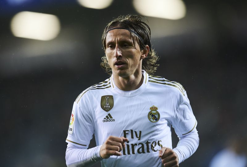 Luka Modric is yet to decide on his Real Madrid future