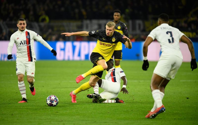 PSG vs Borussia Dortmund: Haaland will lead the charge again as hosts face another last 16 exit
