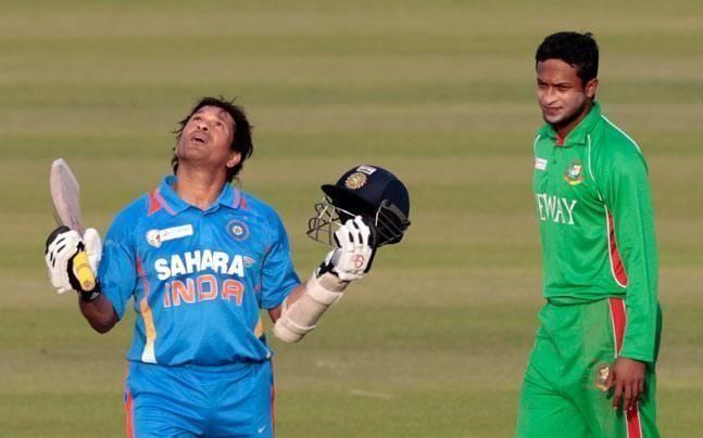 Sachin Tendulkar recorded his 100th international ton on this day eight years ago