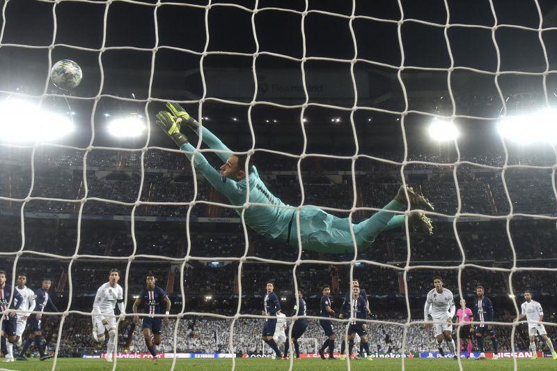 Keylor Navas has four clean-sheets in seven Champions League games this season
