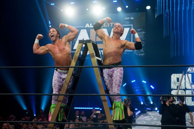 The Dream Match that could happen again in AEW (Pic Source: Yahoo/AEW)