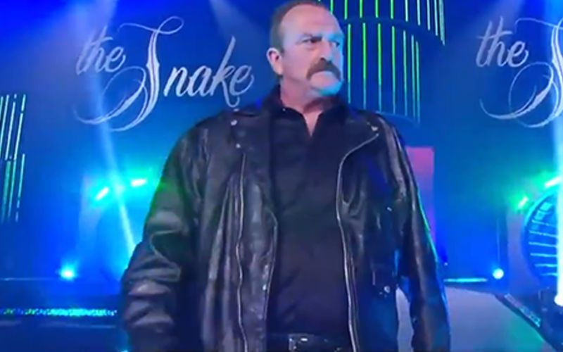 "Jake ""The Snake"" Roberts making his debut in All Elite Wrestling"