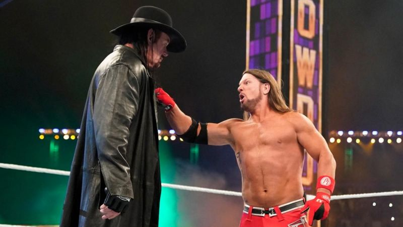 AJ Styles lost the Tuwaiq Trophy because of The Undertaker