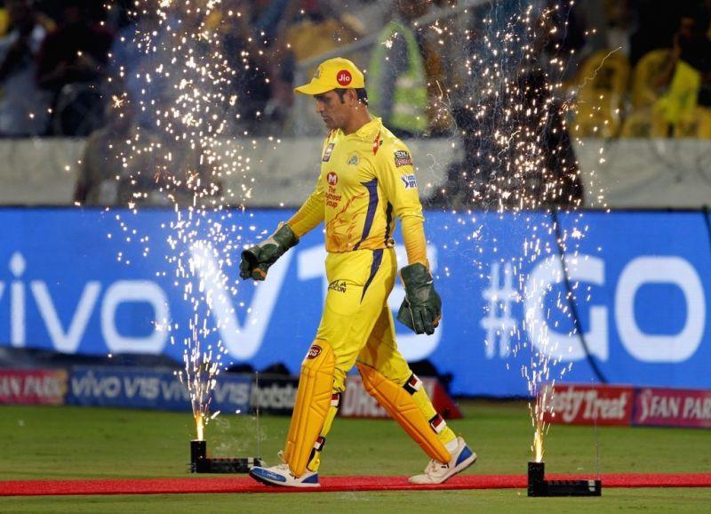 चेन्नई सुपर किंग्स के कप्तान और विकेट कीपर खिलाड़ी महेंद्र सिंह धोनी