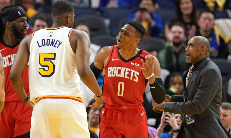 Russell Westbrook has a rich history with technical fouls