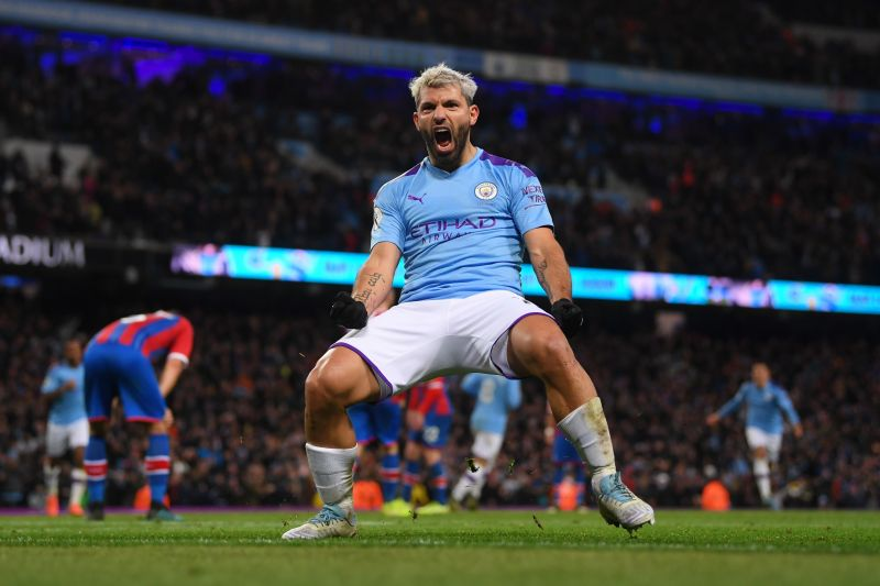 Sergio Aguero capped his debut season in England with a title-clinching goal on the final day of the season