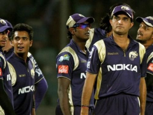 Sourav Ganguly played for Kolkata Knight Riders in the first three seasons of the IPL