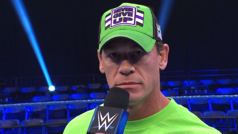 John Cena showed up this week