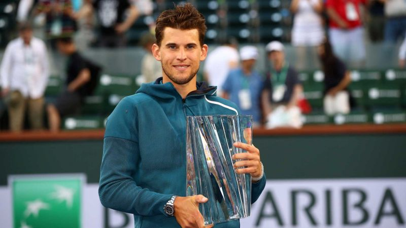 Dominic Thiem made his Masters 1000 breakthrough at 2019 Indian Wells