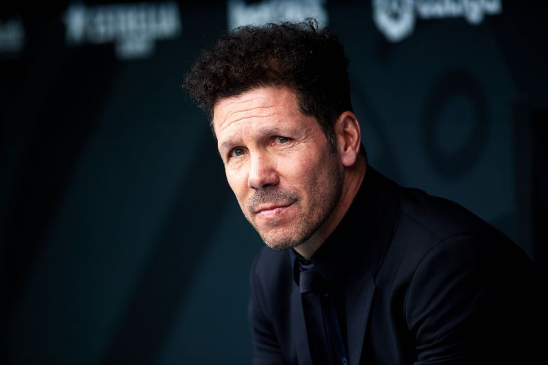 Diego Simeone would square off with Liverpool at Anfield