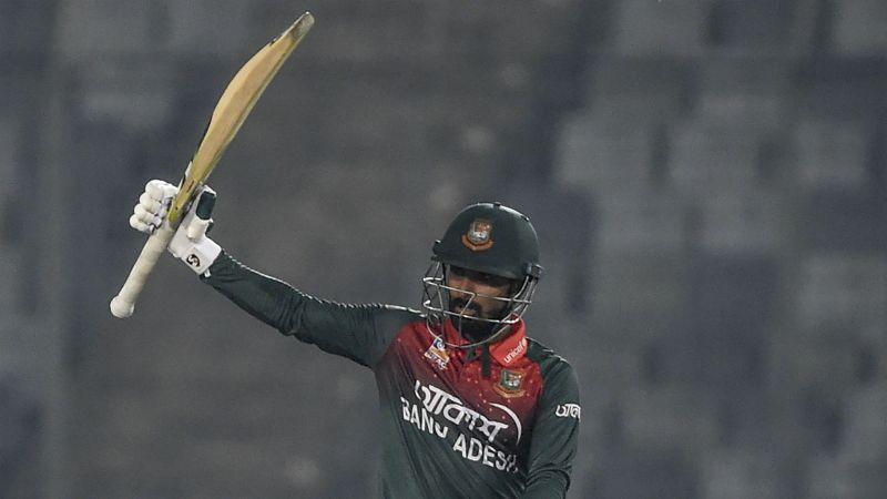 Liton Das led Bangladesh to an easy win over Zimbabwe