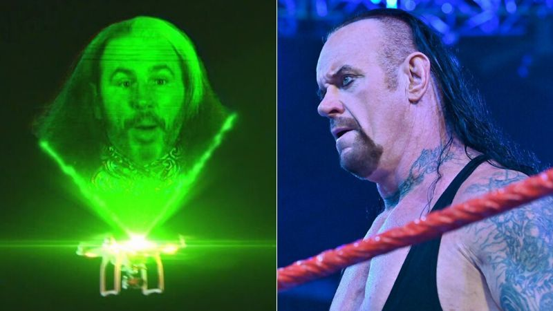 The Undertaker at The Hardy Compound?