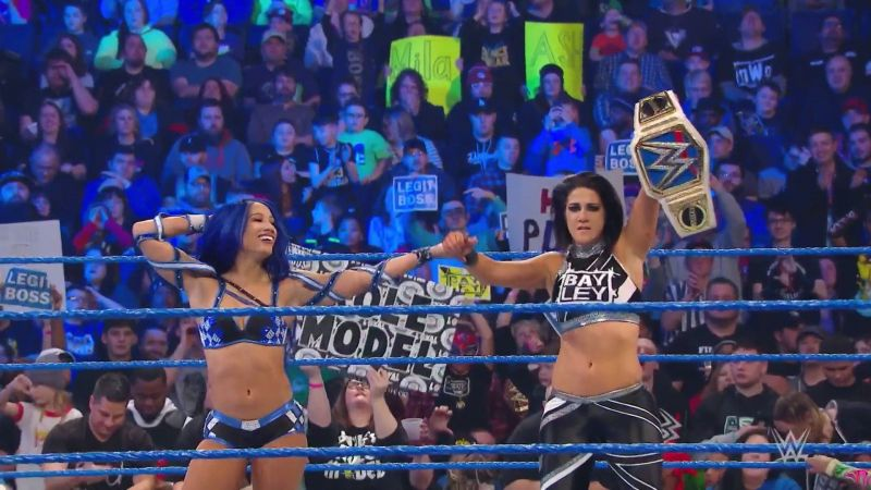 Sasha and Bayley picked up a great win