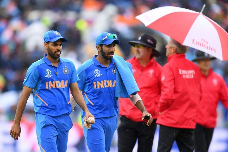 Bhuvneshwar (L) would be returning to action against South Africa